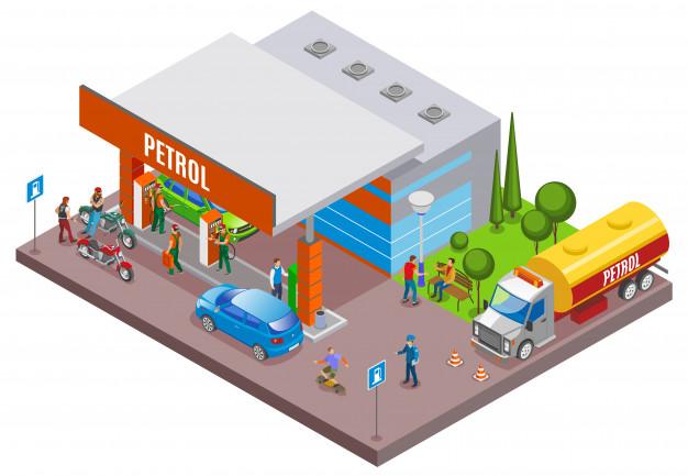 retea de benzinarii
